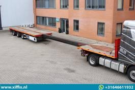 Plattformauflieger Faymonville 3-ass. vlakke MEGA uitschuifbare oplegger // 3x gestuurd 2009