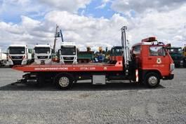 car transporter truck MAN L 8.150 / Ladekran / Brille / Schiebeplateau 1991