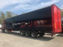 closed box semi trailer Van Hool KAST IN POLYCARBONAAT 2006