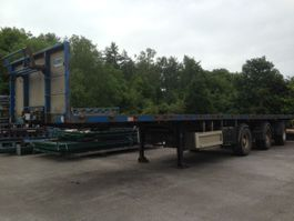 flatbed semi trailer Pacton FLATBED 3 AXLES 1997