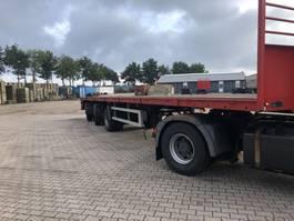 flatbed semi trailer Bulthuis TI 30 A 1990