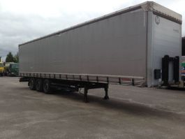 sliding curtain semi trailer Kögel 3 ASSEN BPW 2012