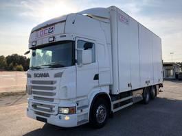 closed box truck > 7.5 t Scania R500 , 6x2*4, Box-truck, Euro 5, 2010 *Excellent* 2009