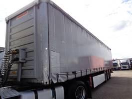 sliding curtain semi trailer Fruehauf T 39 B + 3 AXLE 2008