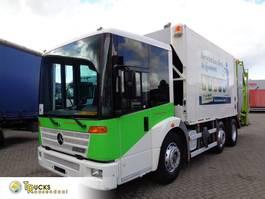 garbage truck Mercedes-Benz Econic 957.65 + PTO + Garbage Truck 2004