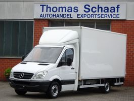 closed box lcv < 7.5 t Mercedes Benz Sprinter 316 Cdi Koffer Maxi 450L Klima LBW 3.5t Euro 5 2011