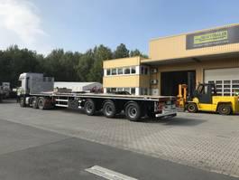 flatbed semi trailer Faymonville MaxTrailer 3-Achs-Doppeltele-Plateau 2019