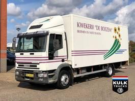 closed box truck > 7.5 t Iveco ML120 E 150 / EURO CARGO  / TIP TOP NEW 6 CILINDER!!! 1998