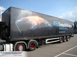 closed box semi trailer Ackermann Closed box trailer / Cargomatic 2011