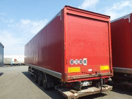 closed box semi trailer Samro Droge vracht 2012