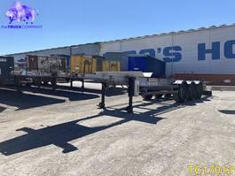 container chassis semi trailer Fruehauf Container Transport 2008