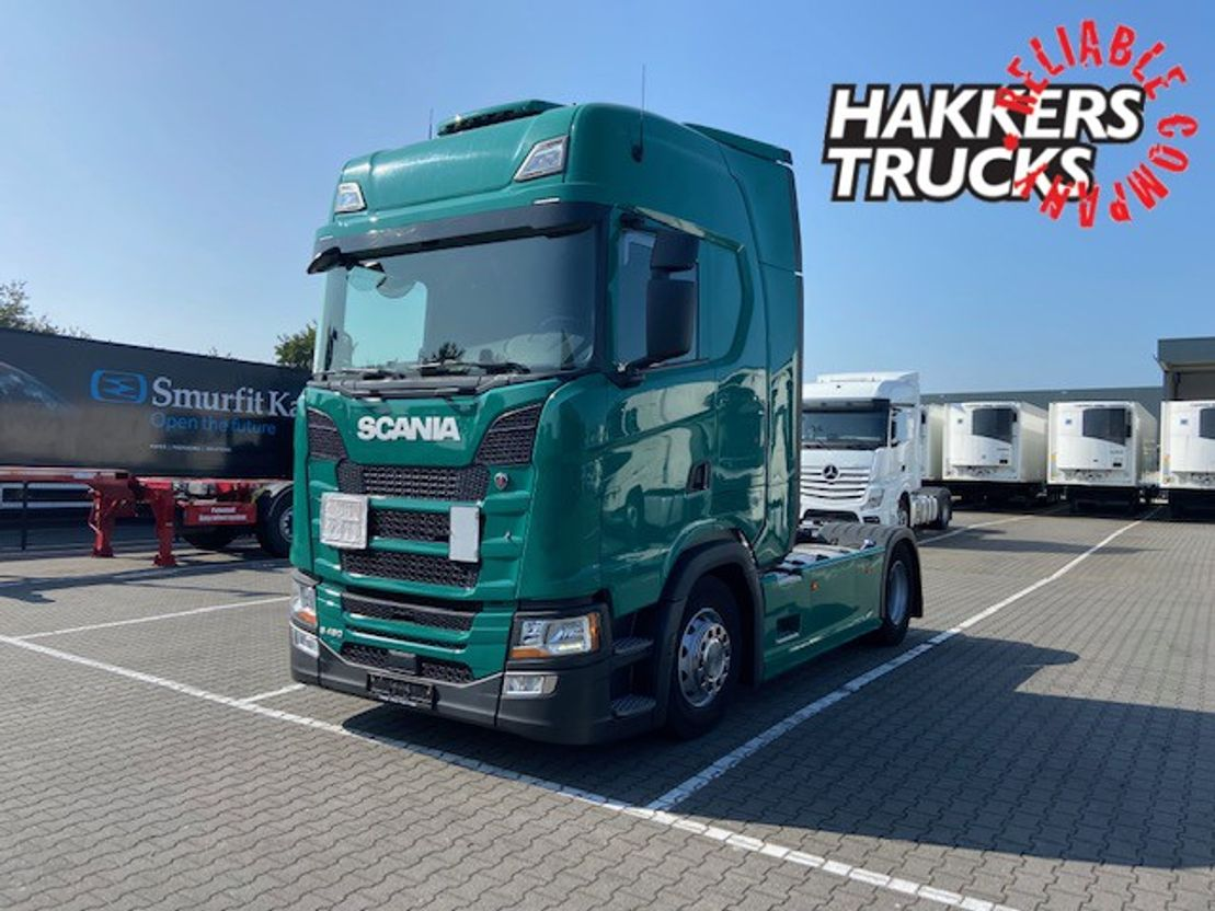 trattore stradale Scania S450 H standklima , hydr unit 2018