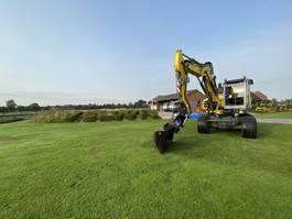 wheeled excavator Wacker Neuson EW100 2014