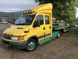 refrigerated closed box lcv Iveco Iveco Daily 40C15  Autotransporter | BE-combi | Car transport | Recovery | Abschlepp 2003