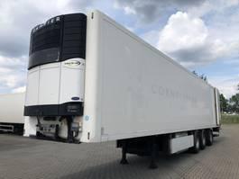 Kühlauflieger Sor Koel-vries/Frigo trailer + taillift/laadklep + stuuras/lenkachse 2009