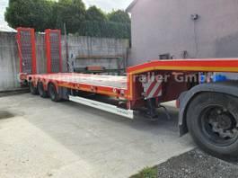lowloader semi trailer KAESSBOHRER SLS HS 3-Achs Lowbed starr -hydr. Schwanenhals- 2020
