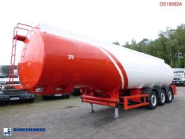 tank semi trailer semi trailer Cobo Fuel tank alu 38.5 m3 / 6 comp + counter 2010