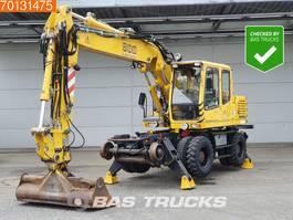 wheeled excavator Liebherr A900ZW ROAD RAIL - GERMAN MACHINE 2004