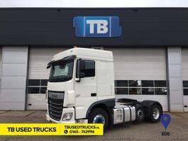 cab over engine DAF XF 440 FTP SPACE CAB ALCOA Zwaailamp Used Trucks Lease 3,85 605L 2017