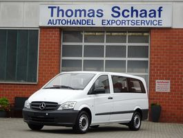 minivan - passenger coach car Mercedes Benz Vito 110 Cdi Blue Efficiency Lang 9 Sitze Klima Euro 5 2014