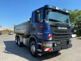 tipper truck > 7.5 t Scania 480 3S Meiller Bordmatik 6x4 Hand Retarder 1.H 2013