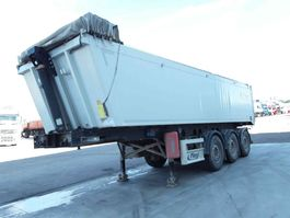 tipper semi trailer Fliegl Oplegger 2014