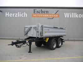 tipper trailer Meiller Tandem MZDA 18/22 Dreiseitenkippanhänger 2020