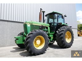 farm tractor John Deere 4455 4WD 1991