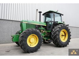 farm tractor John Deere 4250 4WD 1988