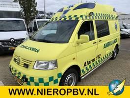 ambulance lcv Volkswagen t5 tdi automaat airco ambulance 2007