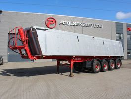 tipper semi trailer Kel-Berg 4-axle 37m3 alu-body 2014
