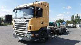 chassis cab truck Scania R440 2013