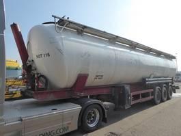 feed semi trailer Spitzer SK 28 AL ,Rieselguter,Granulat,Silo,Cistern 2003