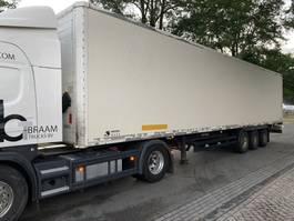 closed box semi trailer Kögel SP24 2008