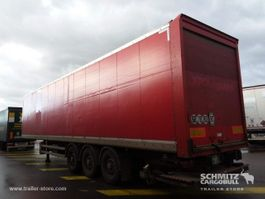 closed box semi trailer Samro Droge vracht Roldeur Hydr. laadklep 2012
