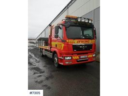 tow-recovery truck MAN TGM 15.290 tow truck 2012