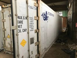 reefer-refrigerated shipping container Carrier Koelcontainer 40 voet