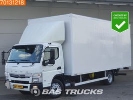 closed box truck > 7.5 t Mitsubishi Canter Fuso 7C18 4X2 Ladebordwand Euro 6 2017