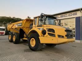 drop side truck Volvo A25F Dumper 21,9 Ton 12.616 Stunden TOP 2011