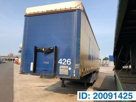 sliding curtain semi trailer Kögel Tautliner S24 2007