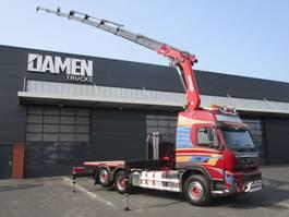 crane truck Volvo FMX 500 6x2 Euro 5 2012