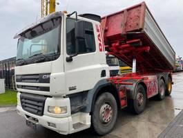 tipper truck > 7.5 t DAF CF 85 .480 8X4 EURO 3 MANUAL FULL STEEL 2005