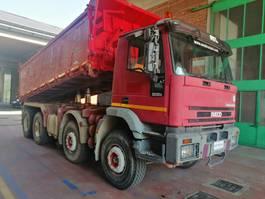 tipper truck > 7.5 t Iveco Eurotrakker 410E42 -8X4