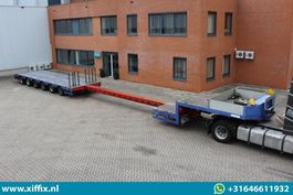 semi lowloader semi trailer ES-GE 6-ass. Uitschuifbare semi dieplader // 5x gestuurd 2008