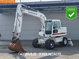 wheeled excavator Volvo EW140 B Hammer line and outriggers 2006