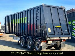 tipper semi trailer Fliegl Kipp Chassis 30FT, ADR, Liftachse, MIETEN? 2018