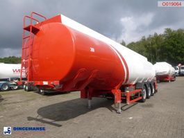 tank semi trailer semi trailer Cobo Fuel tank alu 38.2 m3 / 2 comp 2010