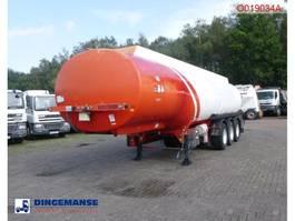 tank semi trailer semi trailer Cobo Fuel tank alu 40.6 m3 / 6 comp 2003