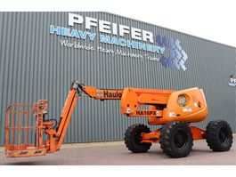 articulated boom lift wheeled Haulotte HA16PXNT Diesel, 4x4x4 Drive, 16m Working Height, 2007