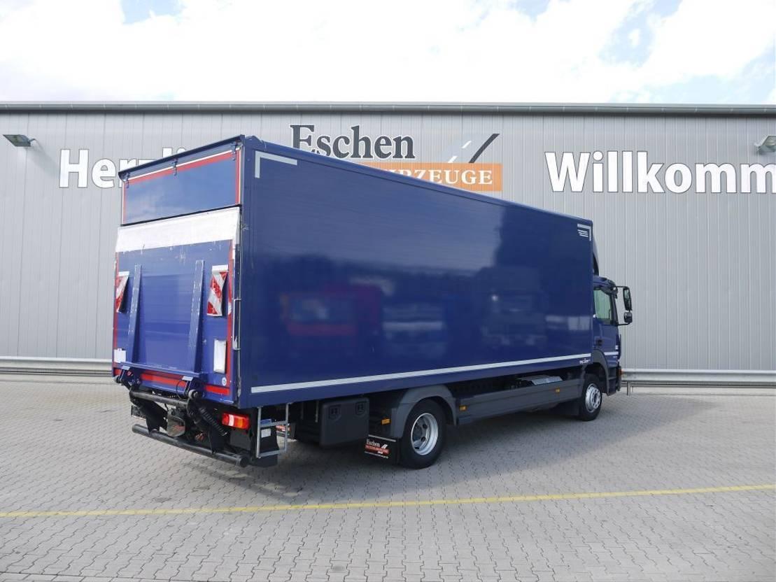 closed box truck > 7.5 t Mercedes Benz Atego 1224 2014